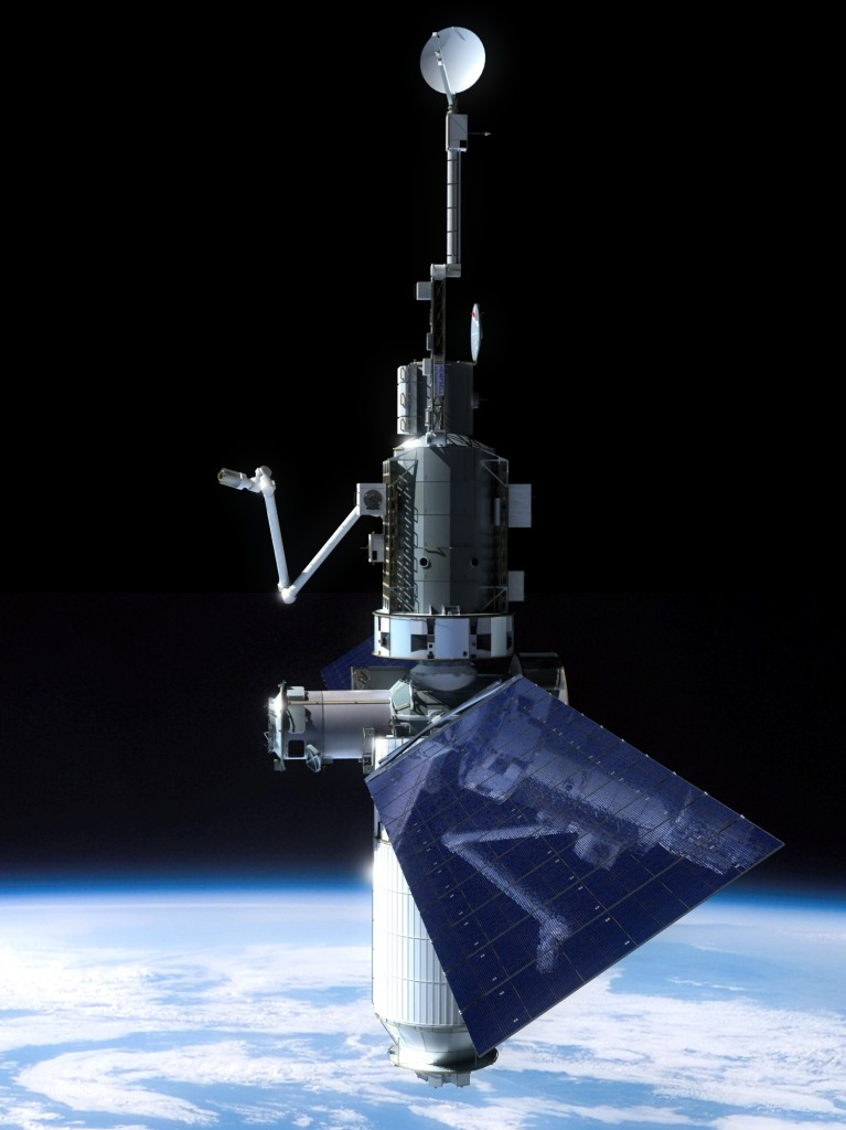 PIA station in low earth orbit